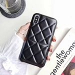 Rhombus PU Leather Case