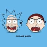 Rick And Morty Head Airpods Case