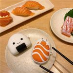 Salmon and Rice Ball Airpods Case
