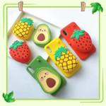 Strawberry&Pineapple&Avocado iPhone 11 Pro Max Case