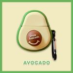 Super Cute Avocado AirPods Case