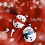 Winter Snowman Airpods Case