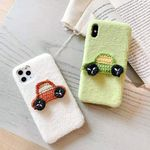 Woven Car Plush iPhone Case