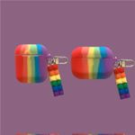 Rainbow with Blocks Airpods Case