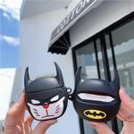 Funny Bat Man Airpods Case