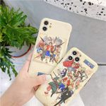 White One Piece iPhone Case