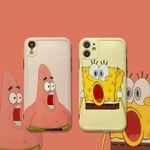 Shocked SpongeBob and Patrick Star iPhone Case