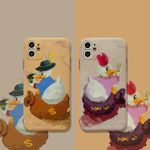 Duck Painting iPhone Case