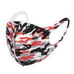 Red Camouflage Pattern Face Mask