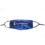 Blue Champion Pattern Face Mask