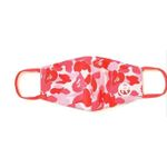 Pink Camouflage Pattern Face Mask
