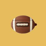 Football Shaped Airpods Case