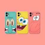 Big Face of SpongeBob SquarePants iPhone Case