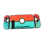 Blue and Red Pokeball Switch Protect Case