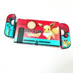Blue And Red Eevee Switch Protect Case