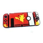 Pikachu and Pokeball Switch Protect Case