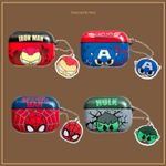 The Avengers Chain Airpods Case