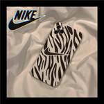 Swoosh in Zebra Pattern iPhone Case