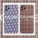 Celine Retro Pattern iPhone Case