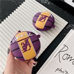 Purple Basketball Airpods Case