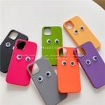 Colorful Moving Eyes iPhone Case