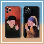 Fashion Oil Painting iPhone Case