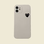 Black White CDG iPhone Case