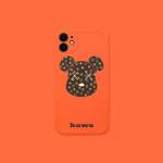 Orange Luxury Bear iPhone Case
