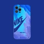 Colorful Painted Swoosh iPhone Case