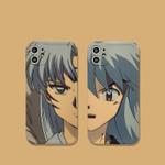 Half Face of Inuyasha iPhone Case