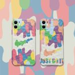 Colorful Melted Swoosh iPhone Case