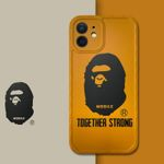 Yellow A BATHING APE iPhone Case