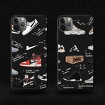 Black Sneaker iPhone Case