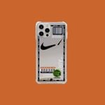 AJ x OW Mirror iPhone Case