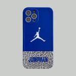 Blue JUMPMAN iPhone Case