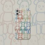 Colorful Bear iPhone Case