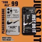 Stylish OW x AJ iPhone Case