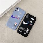 85 OW X AJ SWOOSH iPhone Case