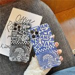 Vans Mosaic Pattern iPhone Case