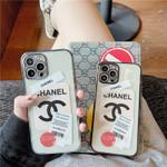Luxury CC Label Sample iPhone Case