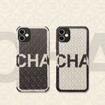 Luxury Simple CC Black and White iPhone Case