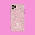 Luxury CC Classic Rose Pattern iPhone Case