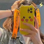 Pikachu Lanyard iPhone Case