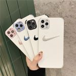 Embroidered Swoosh Logo iPhone Case