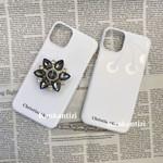 Luxury CD Classic White Bracket iPhone Case
