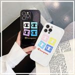 Simple Colorful Champion logo iPhone Case