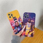 Lakers Color Matching LBJ iPhone Case