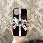 Luxury CC Pearl Airbag Holder iPhone Case