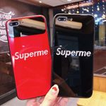 Glass mirror SUP letters iPhone Case