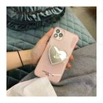 Pink Luxury L Love Bracket iPhone Case
